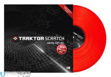 Native Instruments Traktor Scratch Control Vinyl MK2 - Red