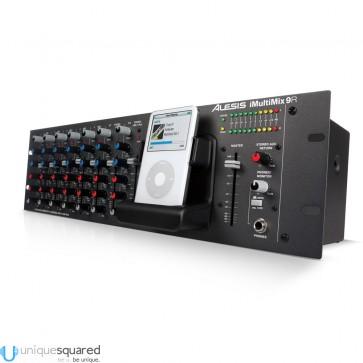 Alesis iMultiMix 9R - Rackmount Mixer with iPod Dock (B-Stock)