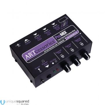 ART ProMIX Three Channel Microphone Mini Mixer