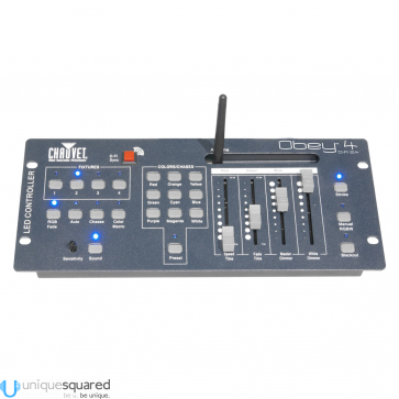 Chauvet Obey 4 D-Fi 2.4 Compact Wireless DMX Lighting Controller