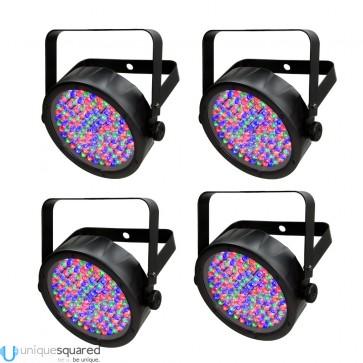 Chauvet SlimPAR 56 LED Par Can Package - 4-Pack