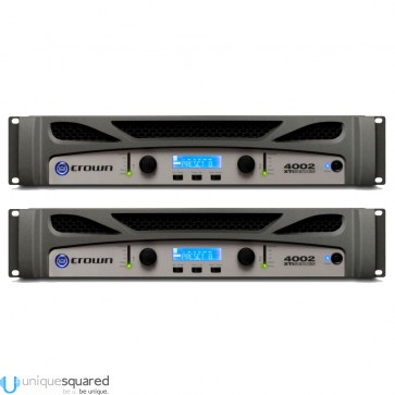 Crown XTi 4002 Power Amplifier Pair