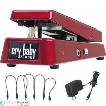 Dunlop SW95 Cry Baby Slash Effect Guitar Pedal w/ Power Adapter/Snake Cable