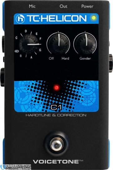 TC-Helicon VoiceTone C1 Hardtune and Correction