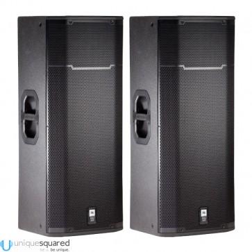 """JBL PRX 425 - Dual 15"""" Two-Way Passive PA Loudspeaker System Pair"""