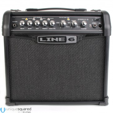 Line 6 Spider IV 15 - Combo Guitar Amplifier (15 Watts)