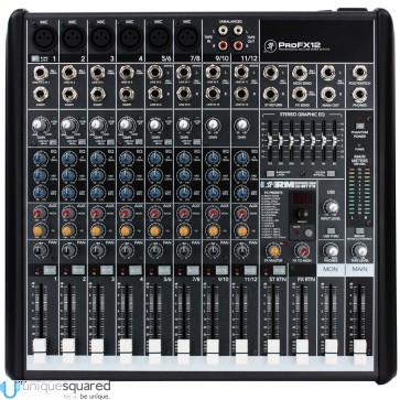 Mackie ProFX12 - Professional Mic/Line Mixer with FX and USB I/O