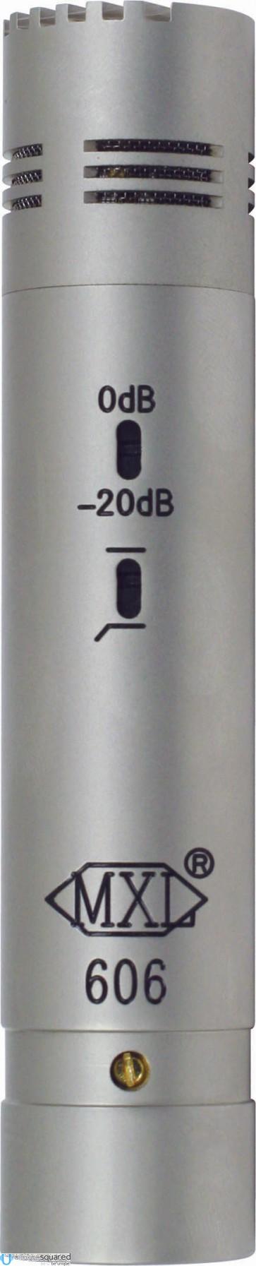 MXL 606 - Small Diaphragm Condenser Instrument Microphone