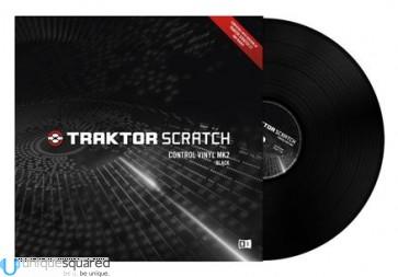 Native Instruments Traktor Scratch Control Vinyl MK2 - Black