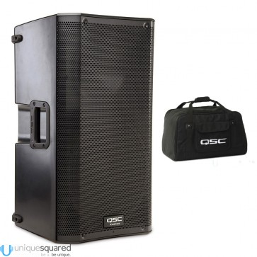 "QSC K12 - 12"" 1000W Powered PA Speaker with Tote"