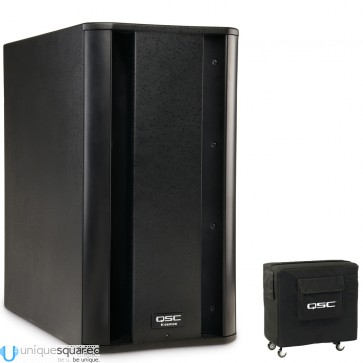 QSCKSubTravel Package - Powered Subwoofer 1000W with Cover
