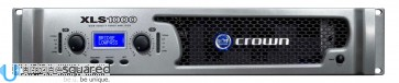 Crown XLS 1000 DriveCore Stereo Power Amp 215W/Channel @ 8 Ohms