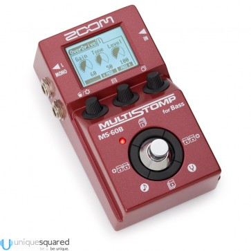 Zoom MS-60B MultiStomp Bass Guitar Effects Pedal