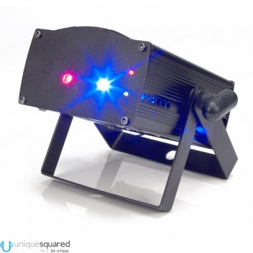 American DJ Micro Royal Galaxian - Portable Mini Red & Blue Laser
