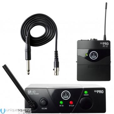 AKG WMS40 MINI Wireless Ultra High Frequency Instrumental Set