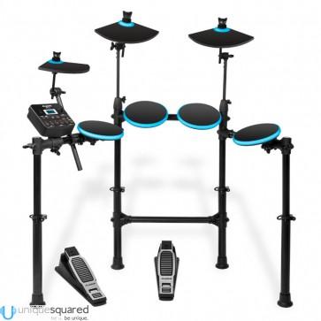Alesis DM Lite Kit - 4-Piece Electronic Drumset w/ Portable Folding Rack
