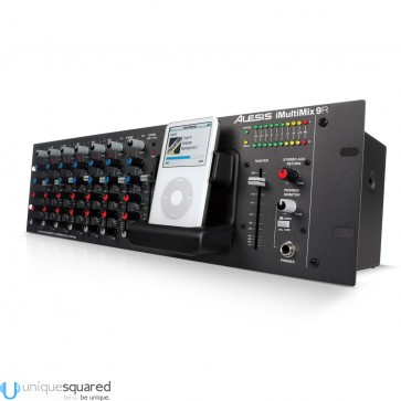 Alesis iMultiMix 9R - Rackmount Mixer with iPod Dock (B-Stock)