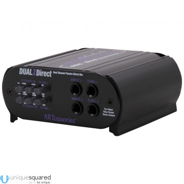 ART DualZDirect Passive 2-Channel DI Box