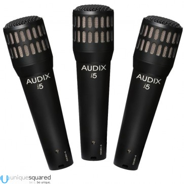 Audix I5 I-5 Snare Guitar Instrument Dynamic Mic (3-Pack)