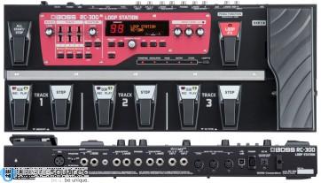 Boss RC-300 - Multi-effect Guitar Loop Station