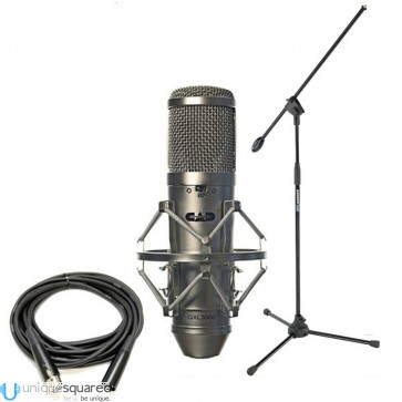 CAD Audio GXL3000 Condenser Microphone with Stand and Cable