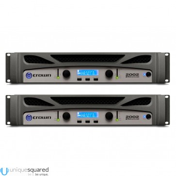 Crown XTi 2002 Power Amplifier Pair