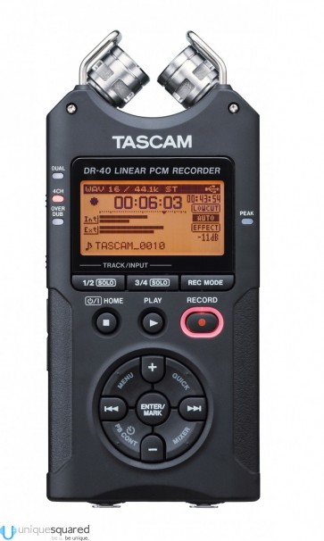 Tascam DR-40 - Linear PCM Recorder