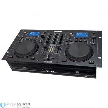 Gemini CDM-4000 CD MP3 USB DJ Media Player