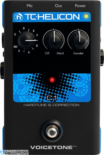 TC-Helicon VoiceTone C1 Hardtune and Correction