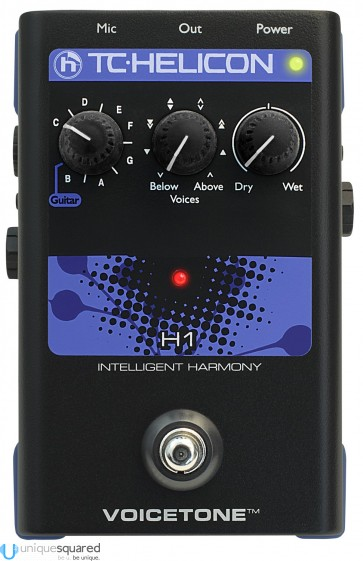 TC Helicon VoiceTone H1 - Vocal Harmony Pedal