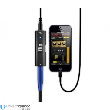 IK Multimedia iRig HD Digital Guitar Interface for iOS Devices and Mac