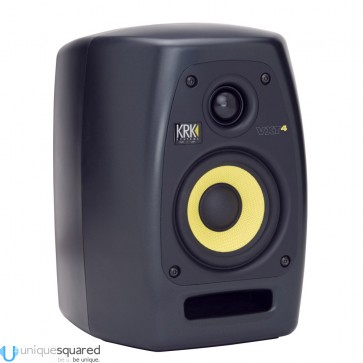 "KRK VXT4 - 4"" 45W Two-Way Active Studio Monitor"