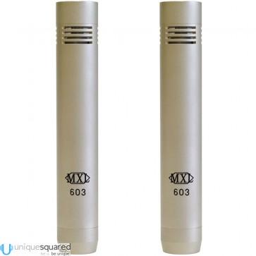 MXL  603  Instrument  Condenser  Microphone  Pair