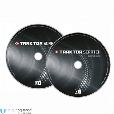 Native Instruments Traktor Scratch MKII Timecode Control Discs (Pair)