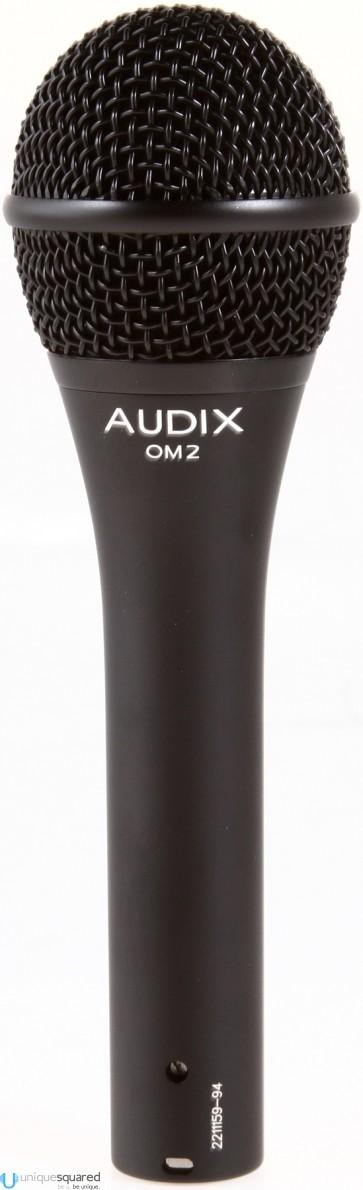 Audix OM2 Dynamic Hypercardioid Handheld Microphone
