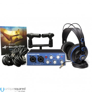 PreSonus Audio Box Stereo USB Hardware/Software Recording Kit