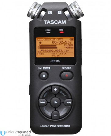 Tascam DR-05 - Linear PCM Recorder