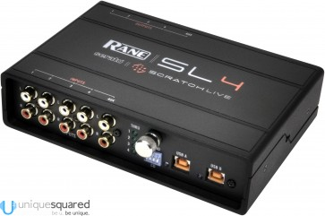 Rane SL4 Kit - Interface for Serato Scratch Live