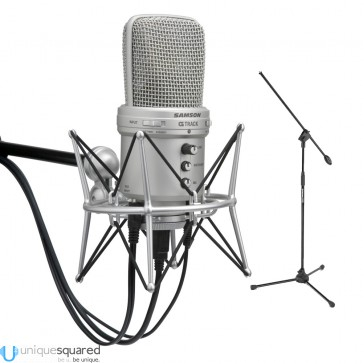 Samson G-Track USB Recording Microphone Deluxe Podcast Kit