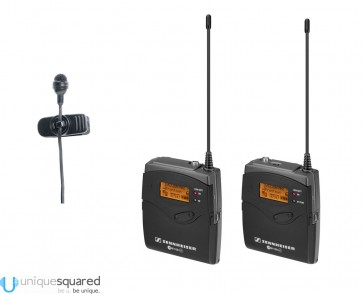 Sennheiser EW 122P G3 Camera Mount Wireless with Lavalier Microphone
