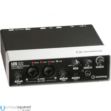 Steinberg UR22 2x2 USB 2.0 Audio Interface w/ Cubase AI
