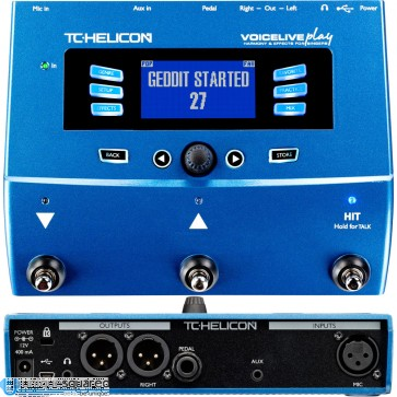 TC Helicon VoiceLive Play - Harmony and Effects Pedal