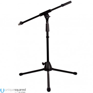 VRT Pro Audio Short Mic Stand w/ Telescoping Boom