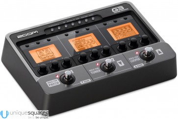 Zoom G3 Guitar Effects & Amp Simulator Pedal