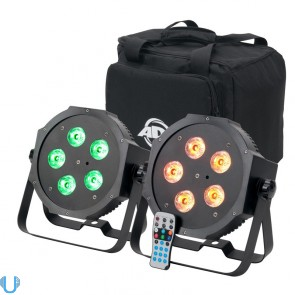 American DJ Mega 64 HEX Pak LED Par Kit