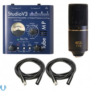 ART Tube MP Studio V3 with MXL 770 and Cables