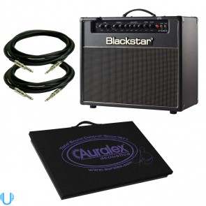 Blackstar HT Club 40 Combo with Auralex Isolation Platform and Cables