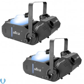 Chauvet Hurricane 1800 Fog Machine Pair
