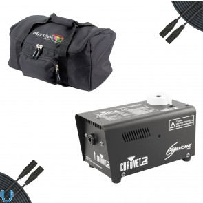 Chauvet Hurricane 700 Fog Machine with Arriba Bag and Cables