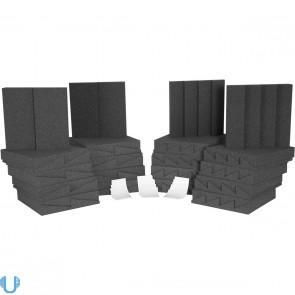 Auralex D36-DST Roominators Kit - Charcoal Grey